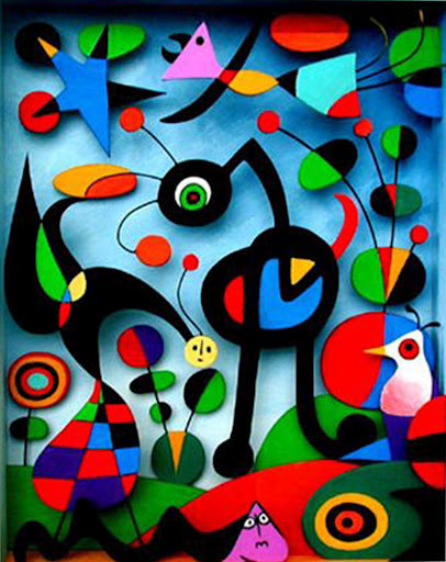 artmastered:  Joan Miro, 1952, The Garden
