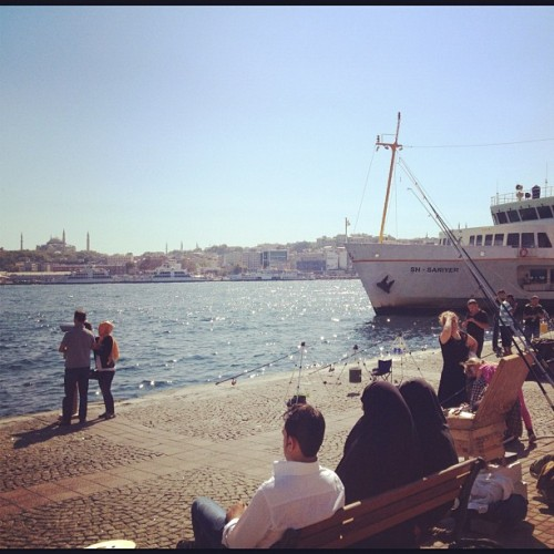 #istanbul #karakoy #vapur #ship #bosphorus #bogaz (Taken with Instagram at Namlı Gurme)