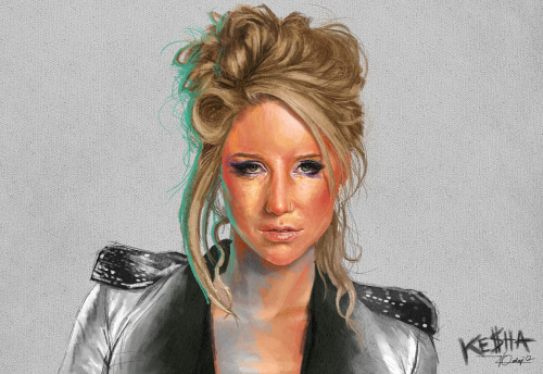 Ke$ha speed painting