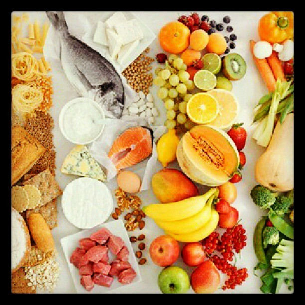 All the different food groups #Nutrition #Fitness #food #Health  (Taken with Instagram)