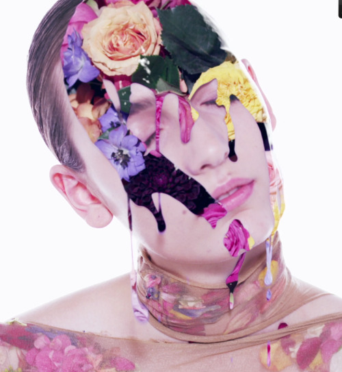 "Preview of the "" holy flowers : fade into you "" film for dazed . Out next week ! More soon with full credits !"