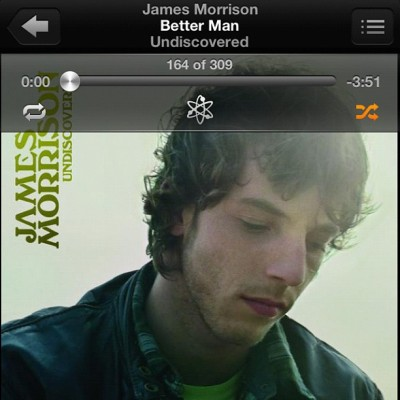 This song. Holy shit. 😍 #jamesmorrison #acoustic #music #amazingvoice (Taken with Instagram)
