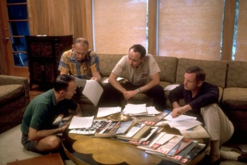 laughingsquid:  At Home with the Apollo 11 Astronauts, 1969