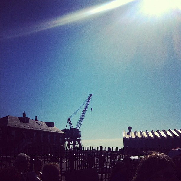 Navy yard (Taken with Instagram at USS Constitution)