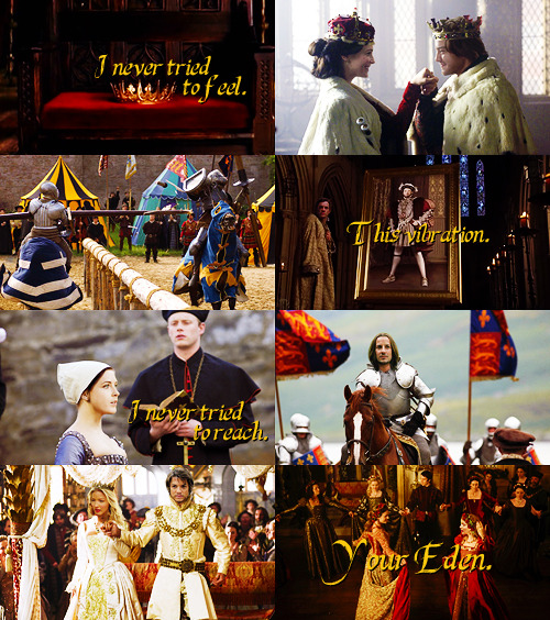 """I never tried to…""  AU meme → Legend of the Seeker as the Tudors → asked by kahlanhbic"