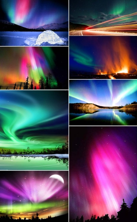 The beautiful Northern Lights, via pinterest