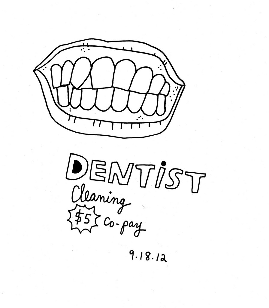 theokbb:  Daily Purchase Drawing for 09.18.12  I love getting my teeth cleaned.
