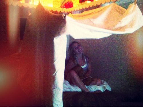 We build tumblr worthy forts. Nbd