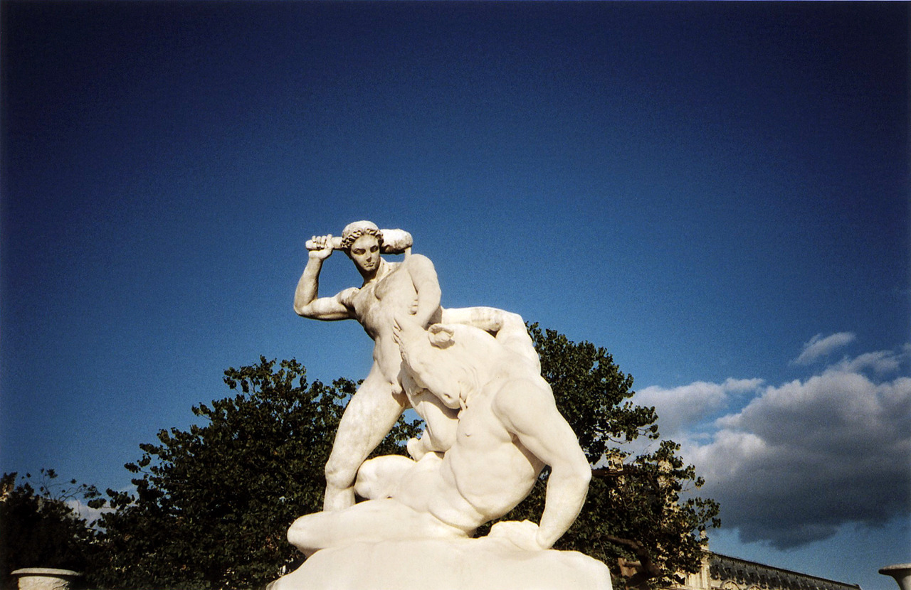 All Centaurs Must Die.  Jardin des Tuileries, Paris 2012
