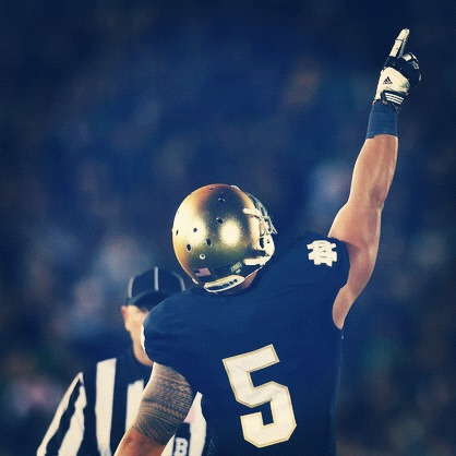 Manti Te'o led Notre Dame to a 13-6 win over Michigan last night and tops The Daily Hand Off's Top Performers from week 4 in College Football. Read more HERE.
