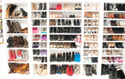 itsmissjessica:  Ashley Tisdale's Shoe Closet.