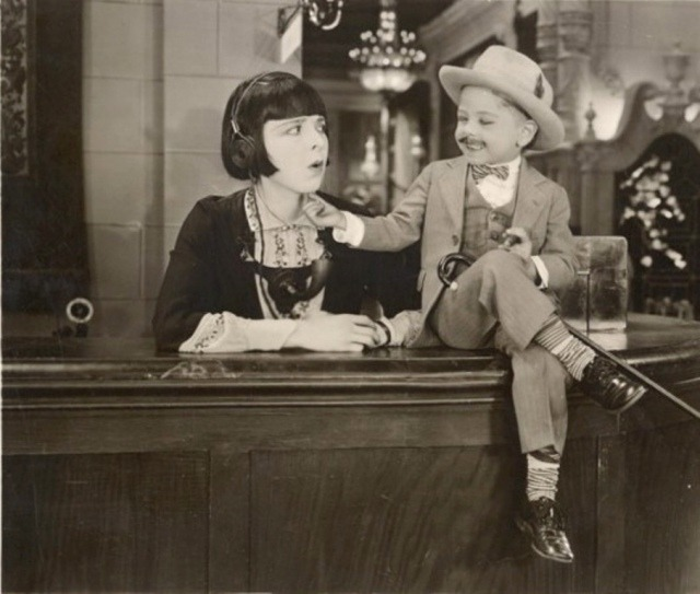 theloudestvoice:  Mickey Rooney (b. September 23, 1920) with Colleen Moore in Orchids and Ermine, 1927 I rarely get to post about someone's birthday here without also including the date on which he or she died, but I finally have that distinct pleasure today. Mickey Rooney has had a long and impressive career in films, beginning as a child actor in the silent era. He's brought an enormous amount of talent to movies and so much joy to so many viewers, and has recently been drawing attention to the often tragically overlooked issue of elder abuse. Happy birthday to him, and I wish him many happy returns!