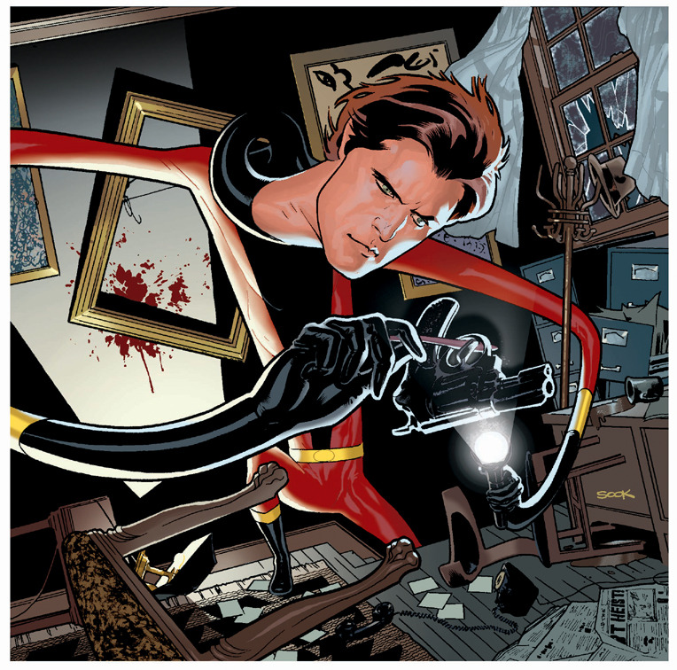 Elongated Man by Ryan Sook
