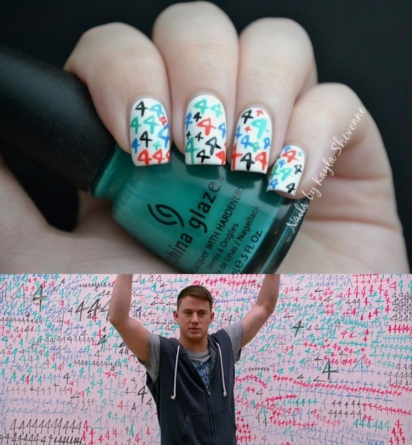 kaylashevonne:  21 Jump Street Nails  I love you for this♥