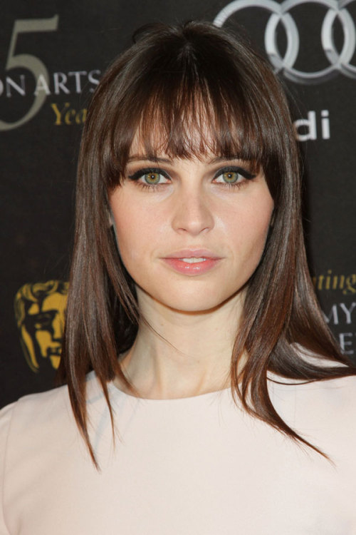 Actress and Dolce & Gabbana ambassador Felicity Jones spills on where she gets inspiration for her makeup, hair and nail looks (Hint: She loves Tumblr!). Get the scoop here »