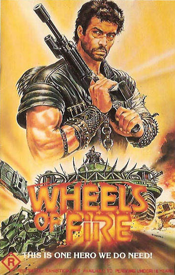 experienceoflove1995:  WHEELS ON FIRE, post apocalyptic cheapo Mad Max ripoff