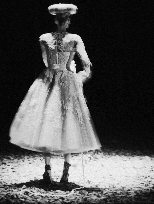 kristen McMenamy at McQ by Alexander McQueen Autumn/Winter 2012