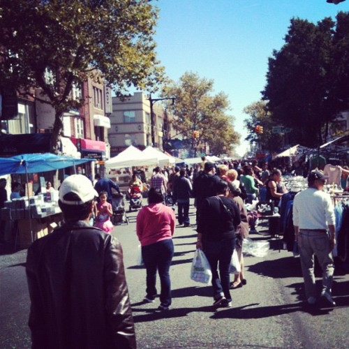 Astoria's broadway fair! #neighborhood #blockparty #fun #fair #festival (Taken with Instagram)