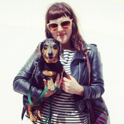 Because sometimes the best accessory is your #BFF 🐶 #streetstyle #sanfrancisco  (Taken with Instagram)