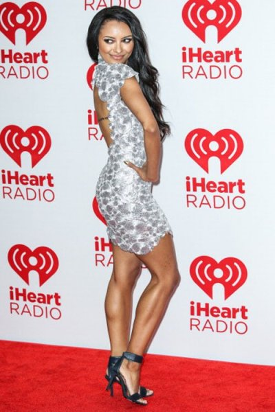 """The Vampire Diaries"", Kat Graham at the iHeartradio Festival"