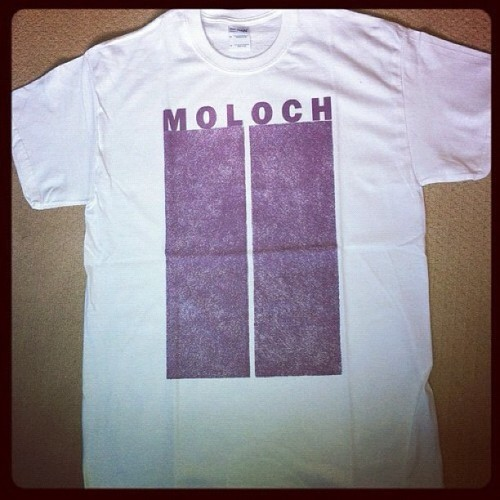 "Order the Moloch / Closure split 7"" and a Moloch shirt for £11 ppd in UK - email feastoftentacles@hotmail.com - only go a few Moloch shirts left #moloch #closure #feastoftentacles  (Taken with Instagram)"