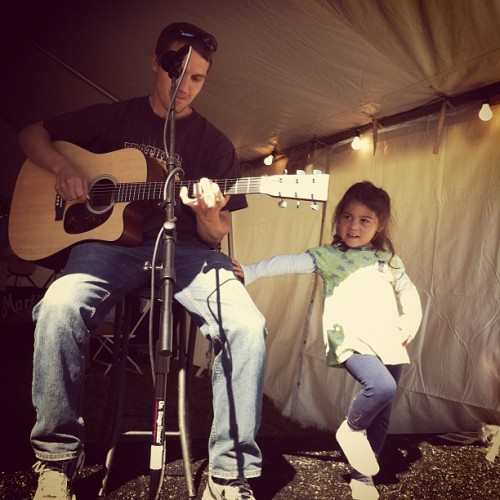 We love it when families share the stage at the #jamtent! #ligfest  (Taken with Instagram)