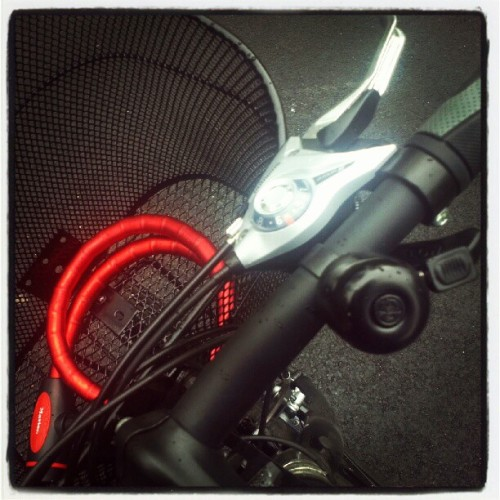 Shiny #bike details #Oslo #Norge #æøå  (Taken with Instagram)
