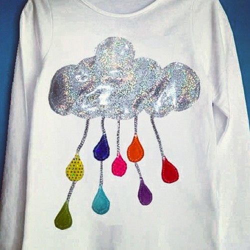 ☁Cloudy with Funky drops☁ (Taken with Instagram)