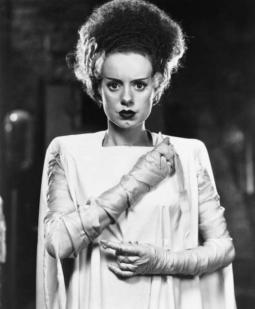 mr-craig:  Elsa Lanchester in Bride of Frankenstein, 1935.