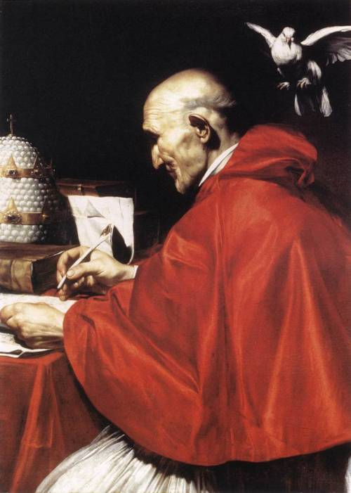 Carlo Saraceni (1579 – 1620) St Gregory the Great  …posad sobre mi