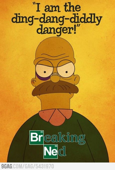 9gag:  Breaking Ned