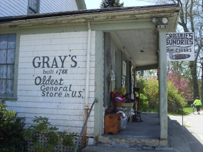 silentcuriosity:  224 Years Later, America's Oldest General Store Closes  America's oldest general store closed its doors after 224 years of operation. Gray's, based in Little Compton, R.I., first opened in 1788. It was passed down for generations until Jonah Waite, who inherited the store last month after his father's death, sold the store citing unprofitability. The landmark also served as the first post office of Rhode Island. Before its closing, community members rushed to say goodbye to the Rhode Island institution.