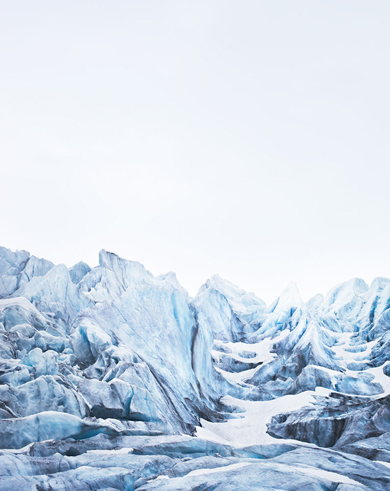 borntoulouse:  Nigardsbreen, Plate I, Norway, 2011 Caleb Cain Marcus: A Portrait of Ice