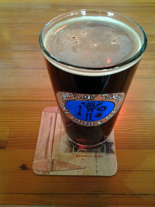 Deschutes Black Butte Porter… on tap at Gunflint Tavern, Grand Marais….