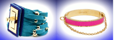 CC SKYE Baja Malibu Bracelet and Neon Pink Bangle