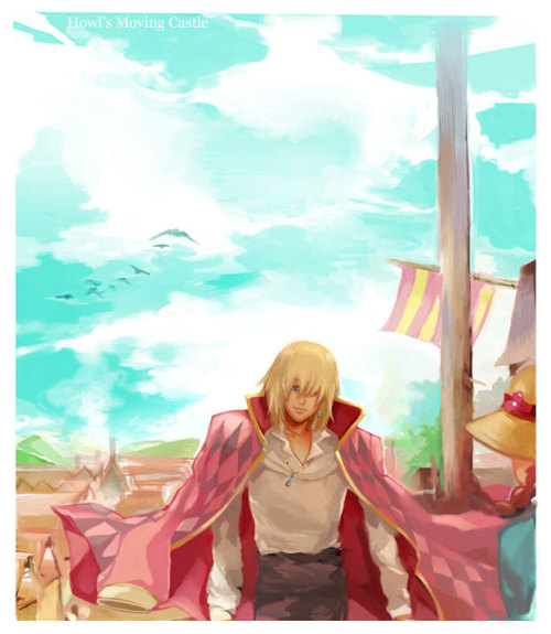 Howl's Moving Castle by *Athena-chan
