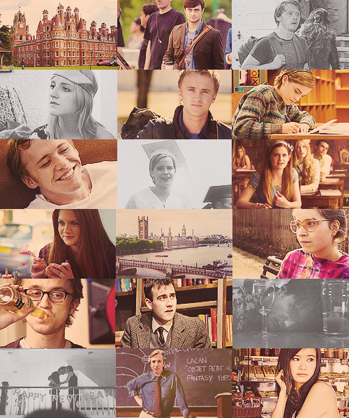 Harry Potter AU:  Hogwarts is a university situated in London, England.
