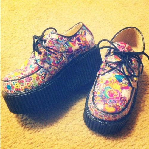 lisa frank creepers