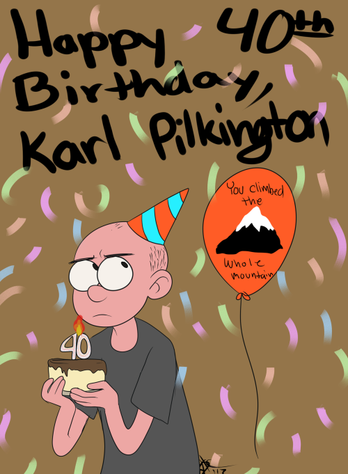 zimiestef:  Happy Birthday, Karl!