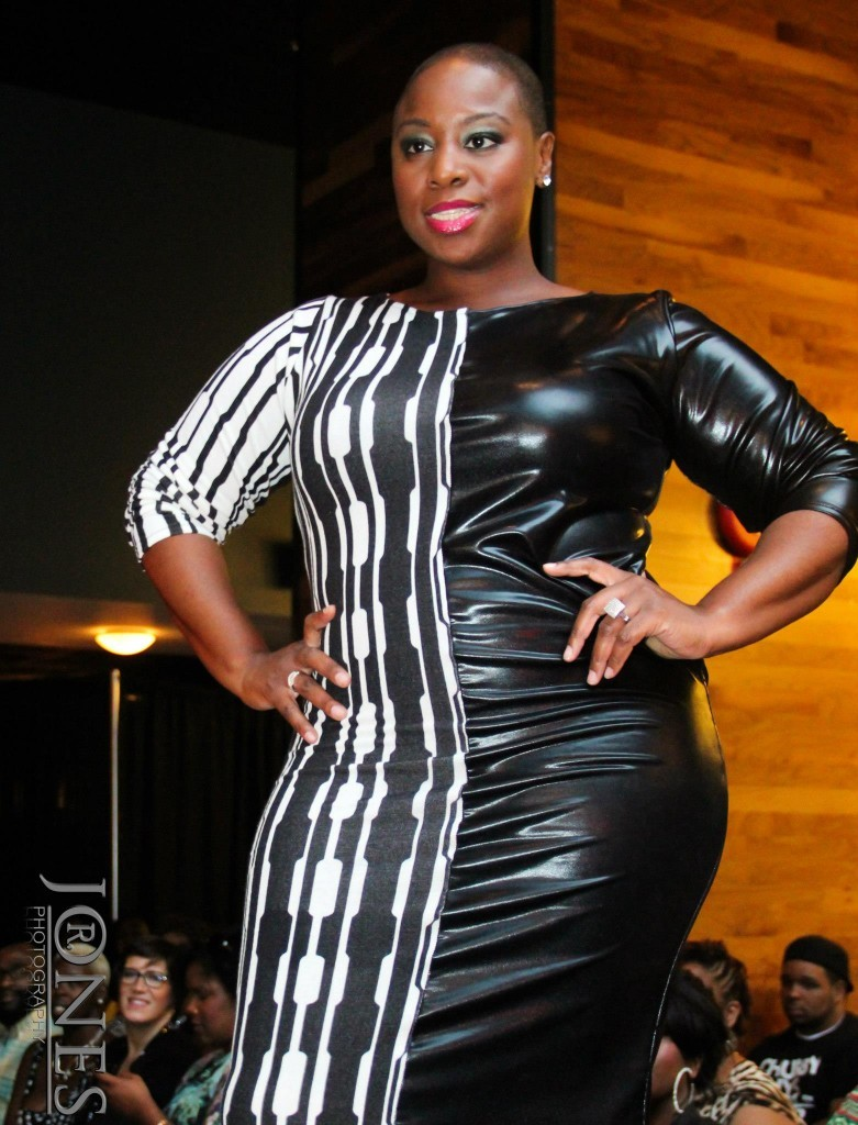 bigbeautifulblackgirls:   Model Jeannie Ferguson in Tru Diva Designs