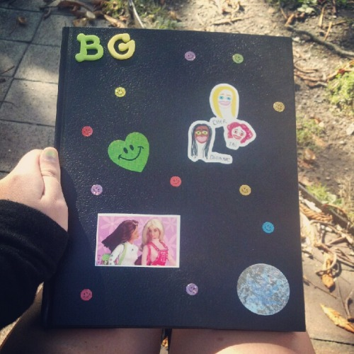 Back 2 school sketchbook :)