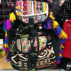 nkathy7:  In love with this #backpack #aztec #colorful #tribal #bohochic #want #cute #style #print #nofilter #shopping #fashion 😍💜 (Taken with Instagram)
