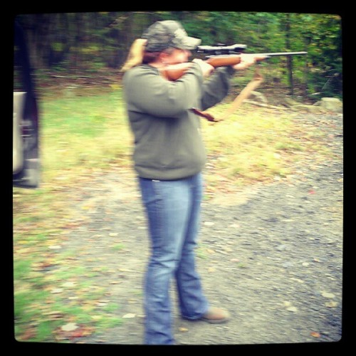Sunday fun :)#7mm #Remington #Magnum #guns #pennsylvania (Taken with Instagram)