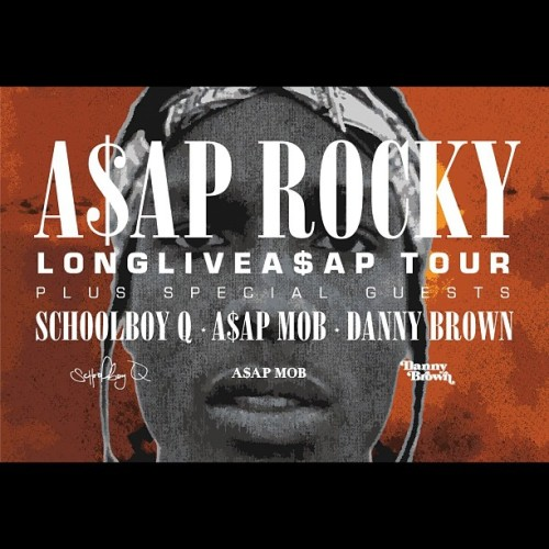 #LONGLIVEASAPTOUR has officially started, cop tix at www.asapmob.com/tour (Taken with Instagram)