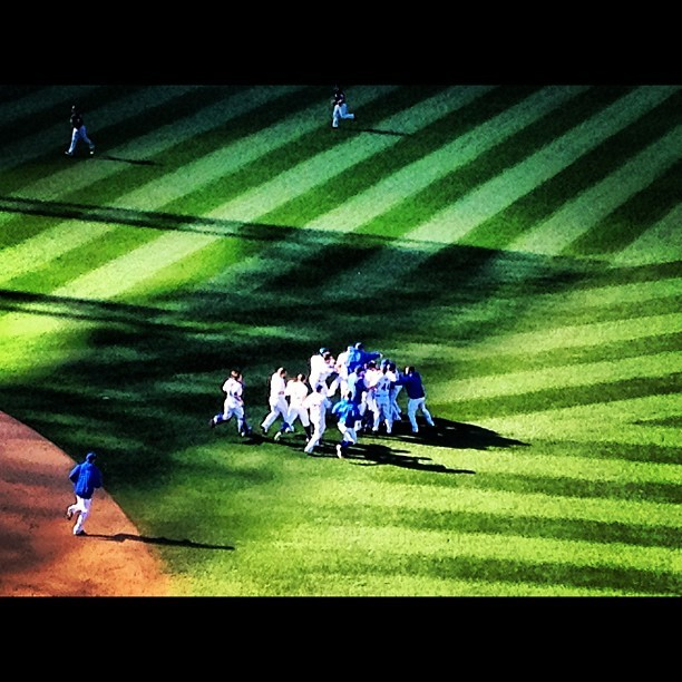 Takin' care of business #mets  (Taken with Instagram)