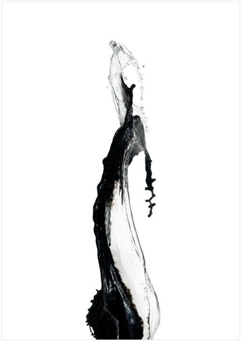 showstudio:  Visual response for Giorgio Armani SS 2013. (Photo: 'Water sculptures' by Shinichi Maruyama)