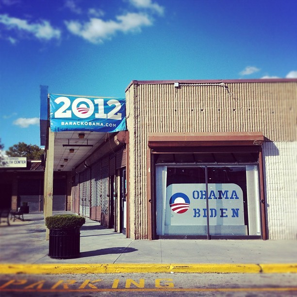 Blue skies. Sunshine. Spent Sunday canvassing to support the Obama re-election campaign in West Philly. follow me on instagram.