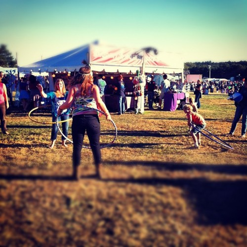 Hoola hoopla #ligfest  (Taken with Instagram)