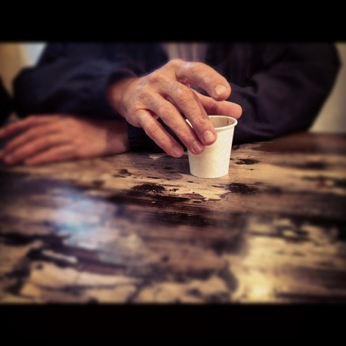 Les mains.  (Taken with Instagram)
