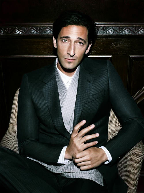 edmures:  3/25 photos of Favourite Actors and Actresses - Adrien Brody  WOW, OMG wow